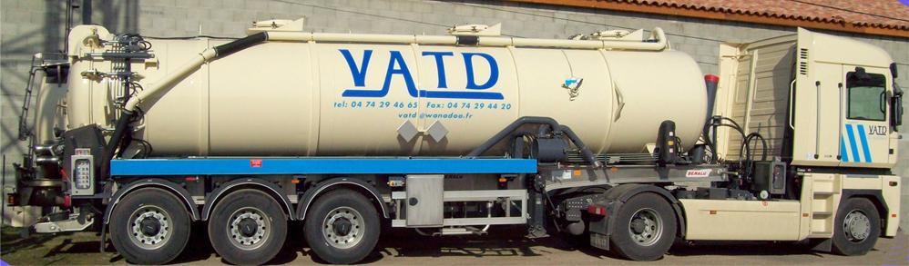 Transport déchets ADR boueux VATD