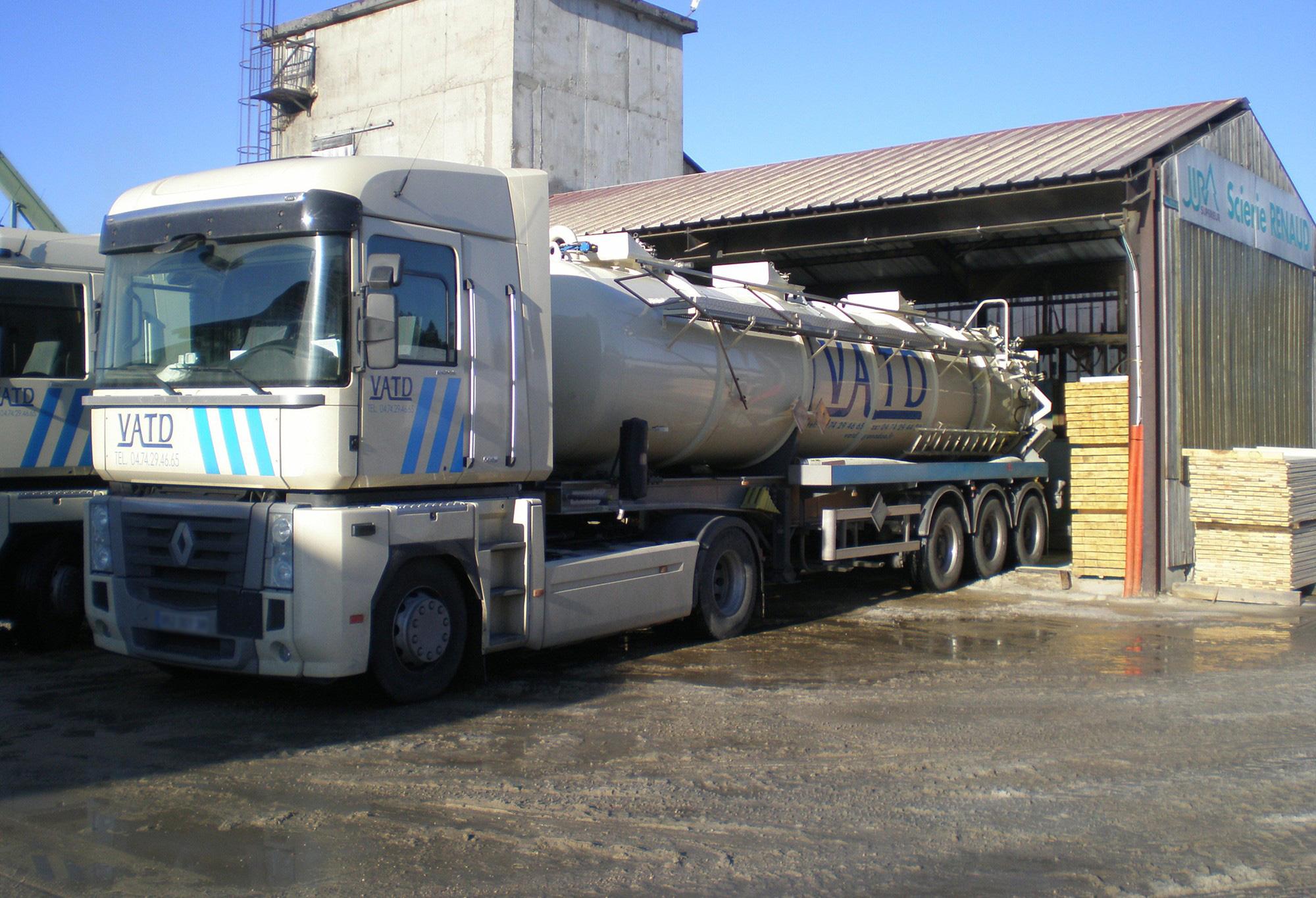 Nettoyage industriel transport déchets ADR VATD